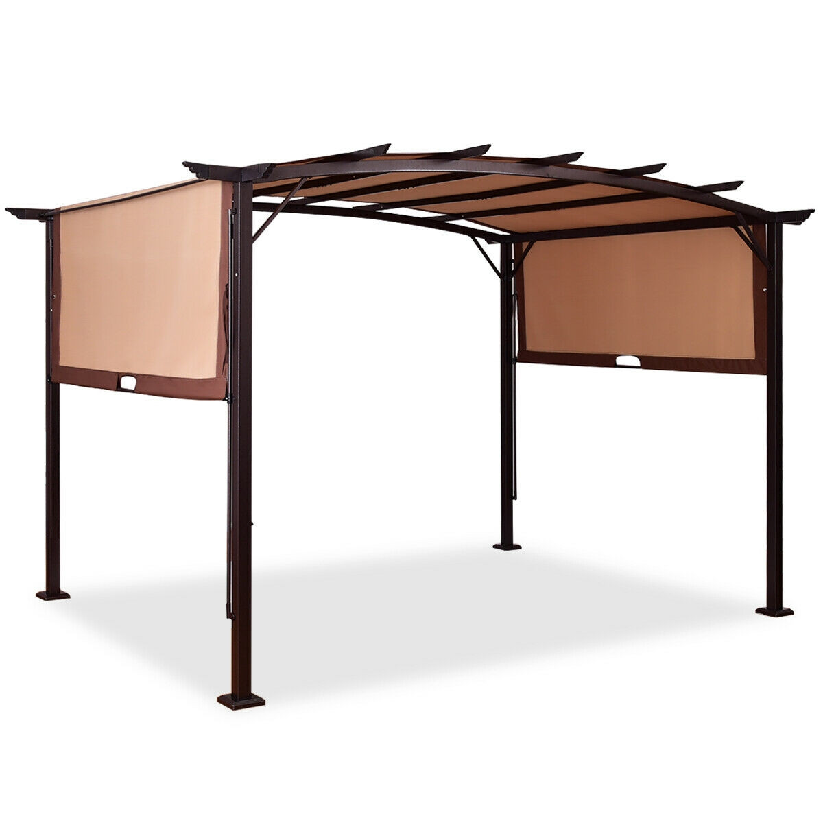 Cantilever Metal Canopy