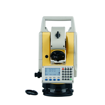 2 total station 400m reflectorlesslow price total station/ total station made in China/ topcan total station all metal 360 degree reflective copper coated prism for robotic total station