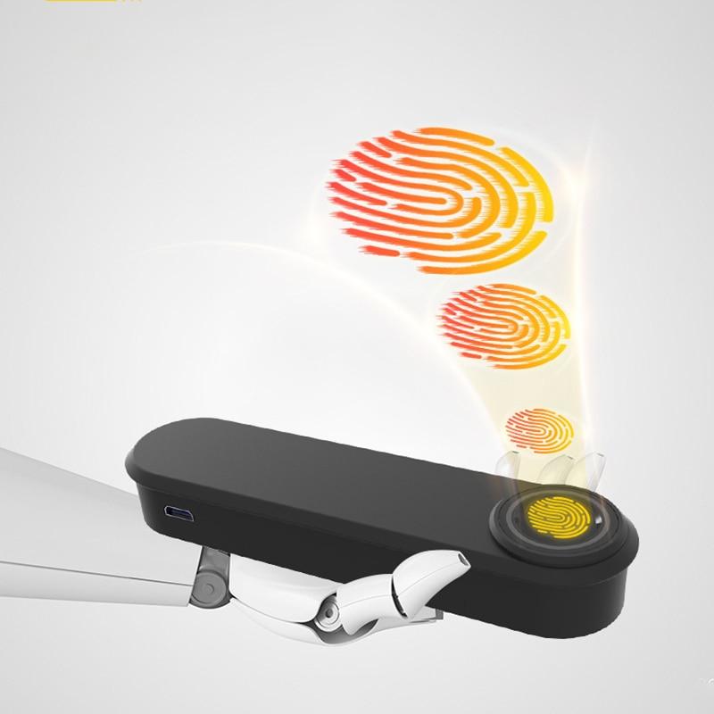 F28 Smart Biometric Fingerprint Handle Door Lock,Safely Convenient with Fingerprint Bluetooth APP Key Unlock for Home Office Apa