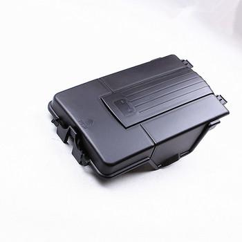 HONGGE akumulator samochodowy taca pokrywa boczna dla Sharan Golf 5 MK6 Passat B6 seat octavia Leon A3 Q3 1 8T 2 0T 1KD 915 443 tanie i dobre opinie 15cm China FRONT 18cm 28cm Plastic 1KD- 915- 443 0 8kg Battery Tray Box Cover 1KD915443 For vw b6 passat VW Golf MK5 VW Jetta MK5 vw jetta mk5 passat b6