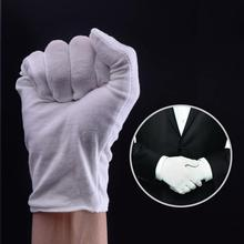 Lightweight Soft Protective Work Gloves White Cotton Gloves Work Gloves Suitable For Ceremony White Gloves Cotton Gloves Work cheap CN(Origin) Fingers Separated Spandex Unisex dropshipping
