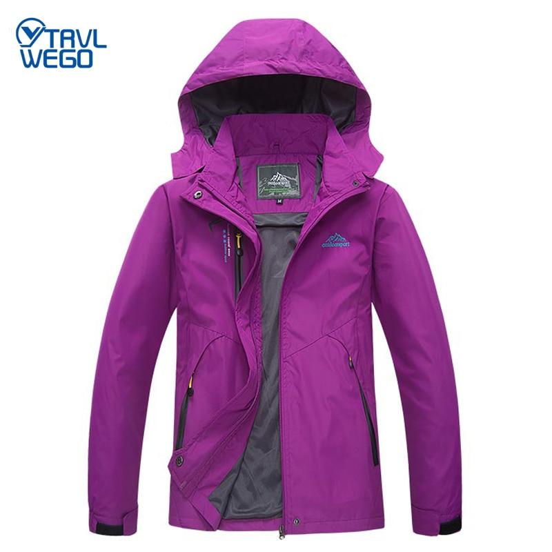 TRVLWEGO походная куртка для кемпинга, Осеннее спортивное пальто для занятий альпинизмом, треккингом, ветровка для путешествий, водонепроницае...