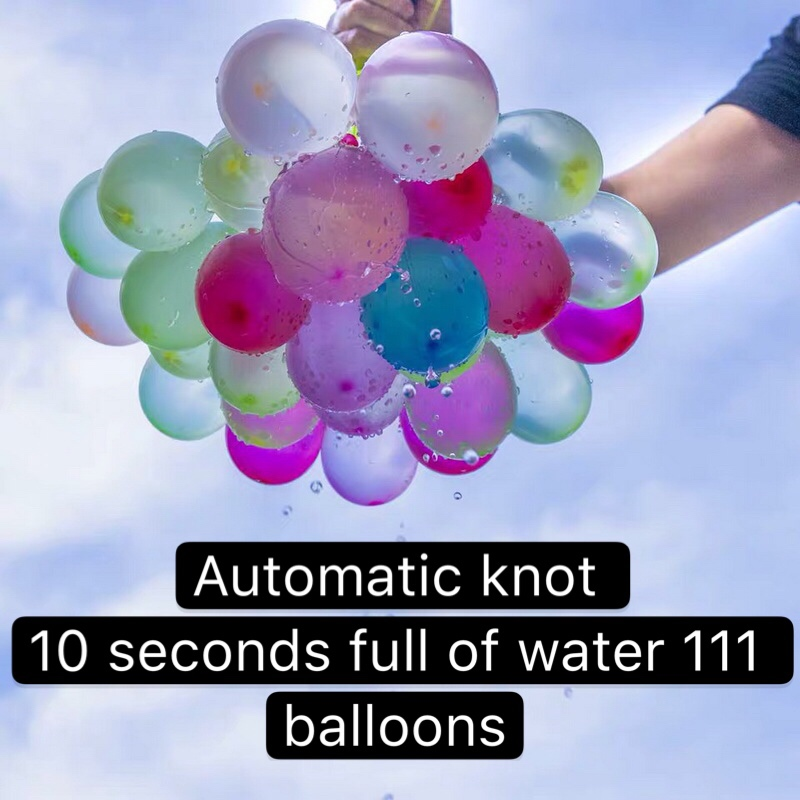 111pcs Water Bombs Balloon Amazing Filling Magic Balloon High Quality Children Water War Game Supplies Kids Summer Outdoor Beach