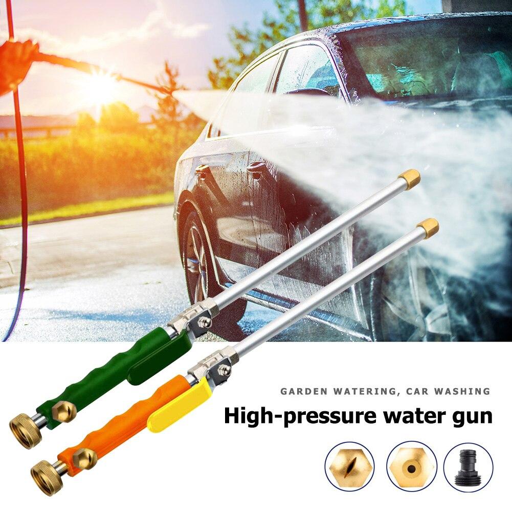Druck Washer Sprinkler Garten Werkzeuge Wasser Pistole Garten Schlauch Düse Wasser Spritzpistole Hochdruck Power Auto Washer