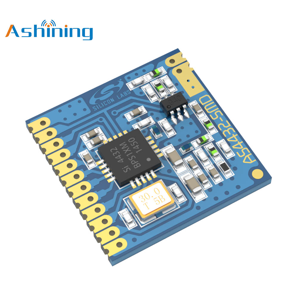 433MHz Remote Sensor SPI TX RX Rf Transmitter Receiver Module AS4432-SMD Ashining