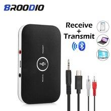 Bluetooth Audio Ontvanger Zender Draadloze Audio Adapter 2 In 1 Rca 3.5Mm 3.5AUX Jack Usb Stereo Muziek Ontvanger Voor tv Auto Pc