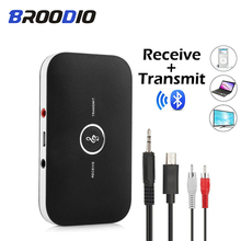 Bluetooth Audio Receiver Transmitter Wireless Audio Adapter 2 IN 1 RCA 3.5MM 3.5AUX Jack USB Stereo Music Receiver For TV Car PC