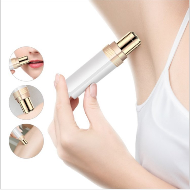 Electric Hair Remover Face Razor Depilator Defeatherer Fashion Bikini Face Neck Leg Hair Removal Tool Body Facial Epilator