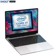 GMOLO 2021 I7 10-го поколения четырехъядерный процессор 8 ГБ/16 ГБ DDR4 ОЗУ 512 ГБ/256 ГБ SSD + 1 ТБ HDD 15,6 дюймов игровой ноутбук