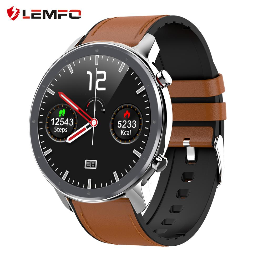 LEMFO 2020 New Smart Watch Men Full Touch Screen Heart Rate Monitor Health Sports Watch Long Standby Smart Watch Women(China)
