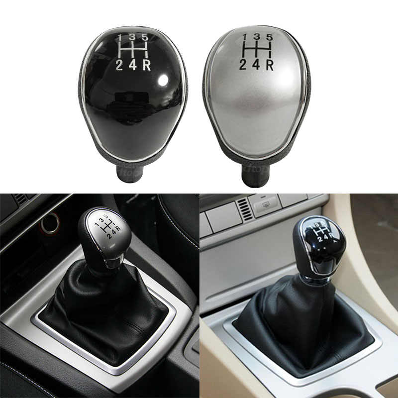 Shift Handle For Ford Focus Mk2 Focus Mk3 Fiesta mk7 Mondeo Mk4 5 6 Speed MT Car Gear Shift Knob Lever Shifter Transmission Gear