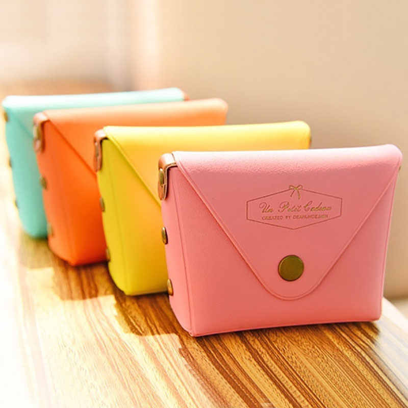 2019 Fashion Dames Lady Kid Coin Wallet PU Lady Kleine Mini Coin Pouch Rits Geld Key Oortelefoon Lijn Coin Houder portemonnee