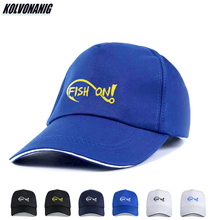2019 Summer Fish on Hook Funny Print Baseball Caps for Men Women Unisex Adjustable Fishing Hats Trucker Cap Cotton Golf Dad Hat
