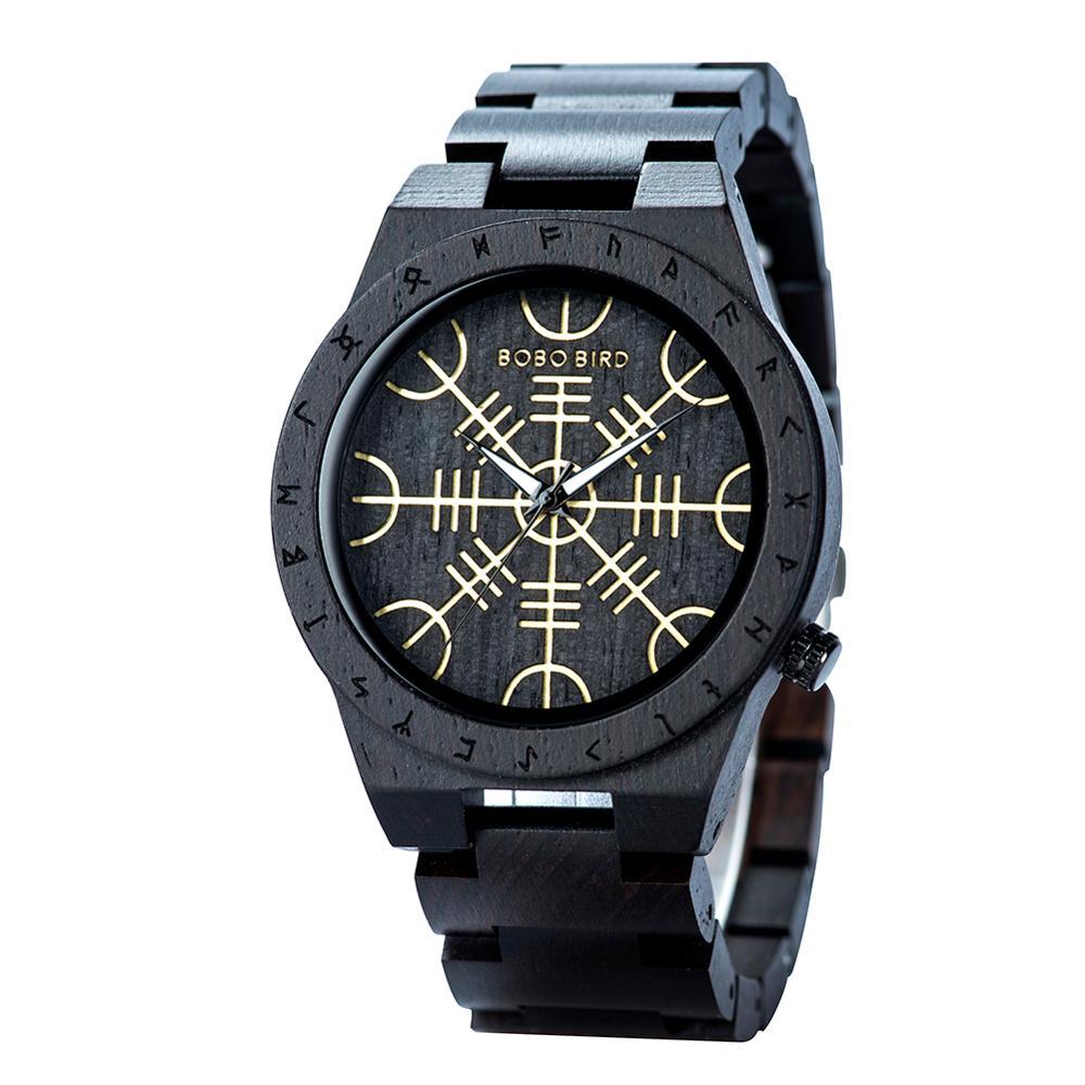 Image 5 - reloj hombre BOBO BIRD Wooden Mens Watches Top Brand Luxury  Japan Movement Watch Men Relogio Masculino OEM DropshippingQuartz Watches   -