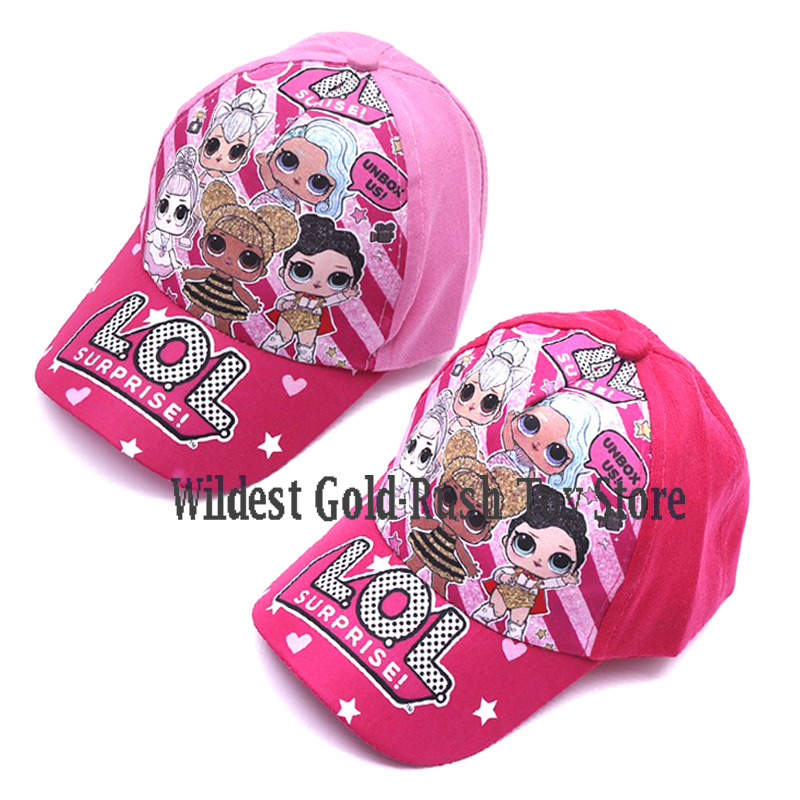 LOL Surprise Dolls Birthday Party Theme Hat Decoration Supplies Holiday Cap Activity Event Kids Gifts