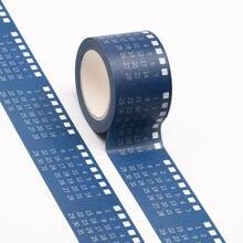 Cinta adhesiva decorativa de 30mm de ancho con calendario, cinta Washi de diseño, Mes de cinta adhesiva para Pegatinas, álbum de recortes, bricolaje, papelería