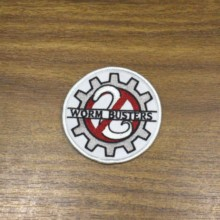 Custom your printed Iron on Patches Sew bagde Hook and Loop Patch for Clothing