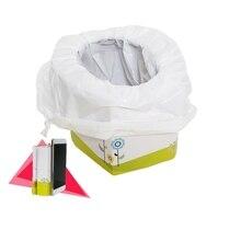 Портативный складной детский тренировочный Туалет детская бумага дорожный Горшок детский мочесборник