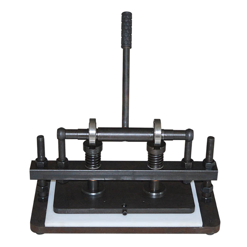 Double Wheel Hand Leather Cutting Machine Manual Leather Cutter PVC/EVA Sheet Mold Cutter Leather Die Cutting Machine 1PC|Machine Centre| |  -