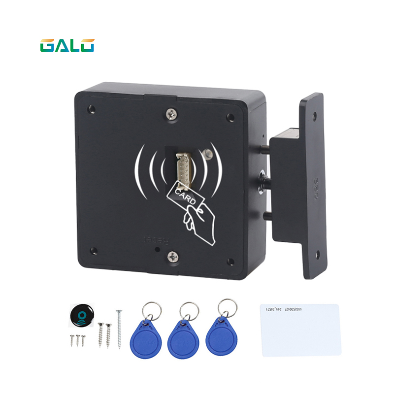 Smart Electronic Hidden RFID Cabinet Lock No Hole Easy Installation Furniture Locker Wardrobe Shoe Cabinet Drawer Door Lock