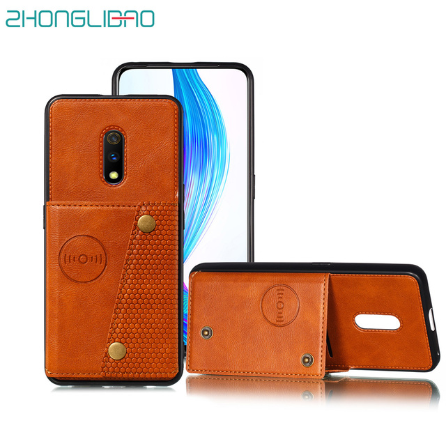 Wallet Case for OPPO F11 REALME 3 A9 Pro X K3 Pu Leather Card Holders Back Car Magnetic Stand Phone Cover OPPO RENO Z 10x Zoom