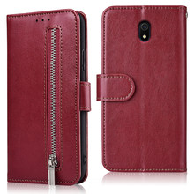 For Coque On Redmi 3S (3X) 4 Prime (Pro) 4X 4A 5 Plus 5A 6 Pro 7 7A 8A GO S2 S3 Case Zipper Flip Wallet Leather Case(China)