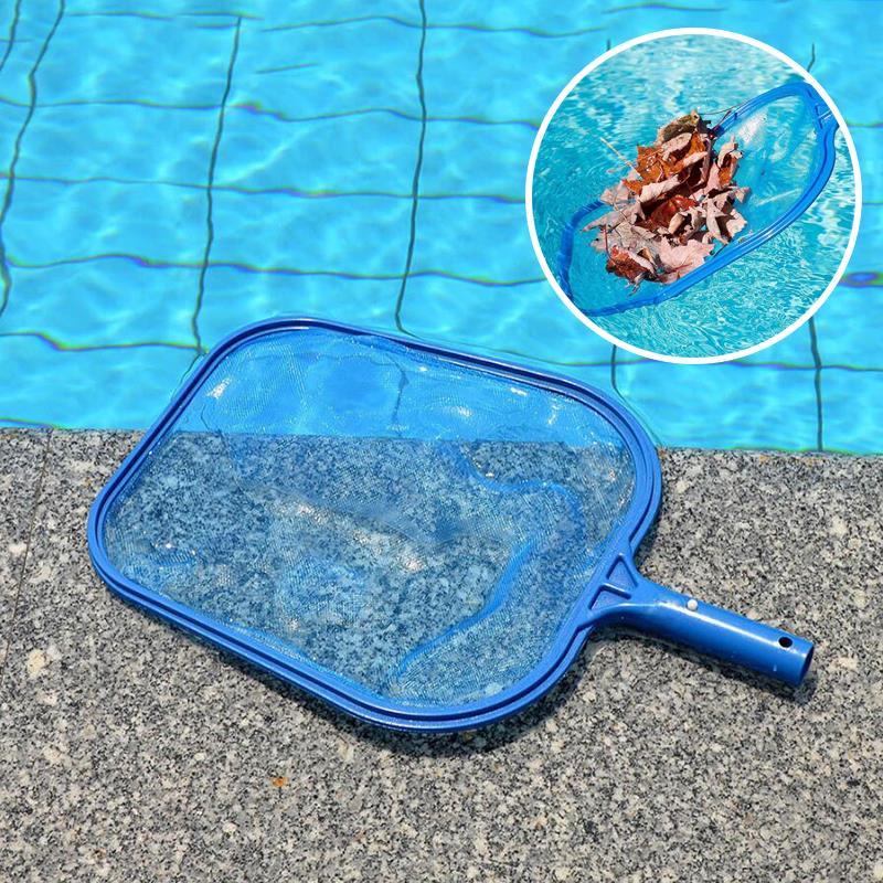 Leaf Rake Mesh Frame Net Skimmer Cleaner Swimming Pool Spa Supply Cleaning Tool