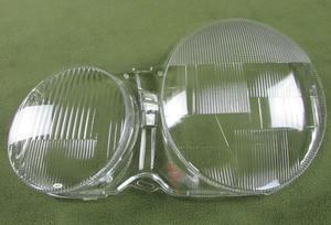 Image 5 - Dla 1995 2003 mercedes benz W210 E200 E240 E260 E280 osłona reflektora przezroczysta powłoka reflektor Shell abażur szklany obiektyw