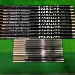 Гольф Вал стабильность Ei Gj 1,0 черный клюшка для гольфа графитовый Вал углеродистая сталь скрепленный стабильный толкатель Бесплатная доста...