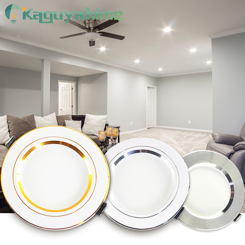 Kaguyahime Downlight 18W 15W 9W 5W 3W Recessed Round LED Lamp Indoor Lighting AC 220V 240V LED Downlight Warm White Cold White