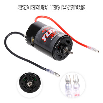 550 35T Brushed Motor for RC 1/10 Axial SCX10 RC4WD D90 Crawler Climbing Tamiya Tractor Truck Trailer Car Accessories - discount item  31% OFF Remote Control Toys