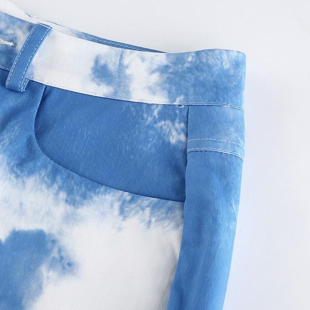 Cargo Pants in two splash colors