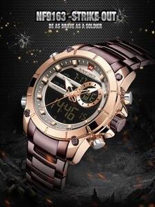 NAVIFORCE Men Watches Clock Chronograph Military Top-Brand Relogio Masculino Fashion