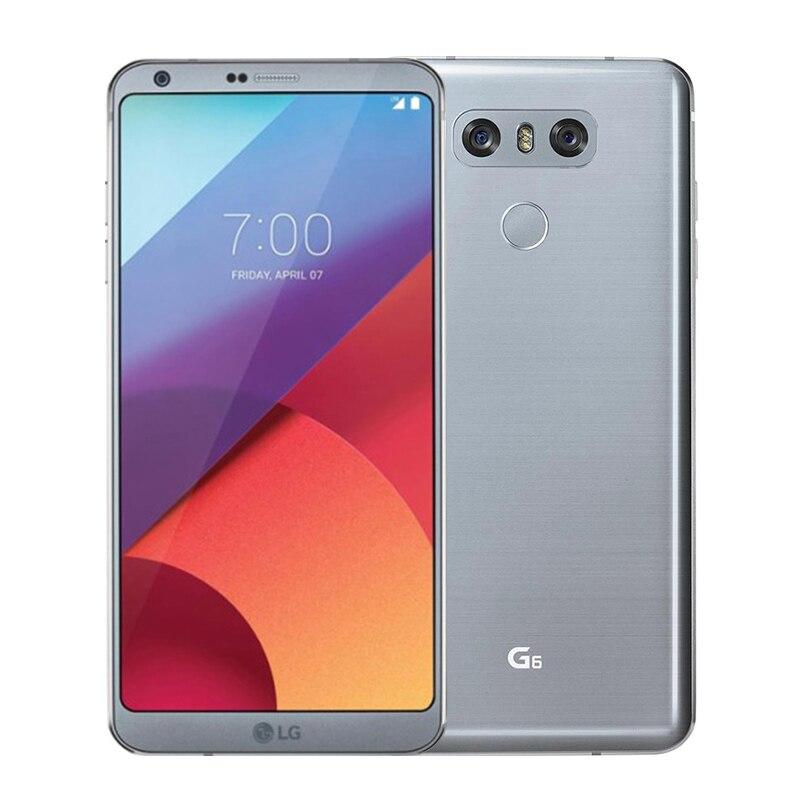 "LG G6 H871 H872 H873 G600 4 Гб ОЗУ 32 Гб ПЗУ Snapdragon 821 5,"" 13 МП 4G LTE разблокированный мобильный телефон - Цвет: Silver"
