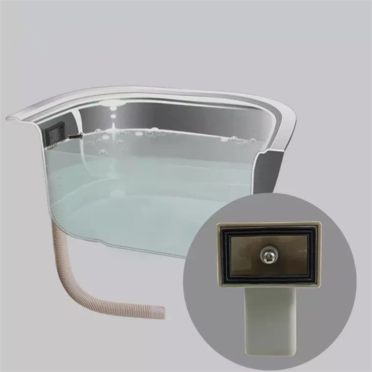 Kitchen Washing Basin Overflow Tube Square Overflow Joint Sink Pool Overflow Port Drainage Pipe Sewer Accessories