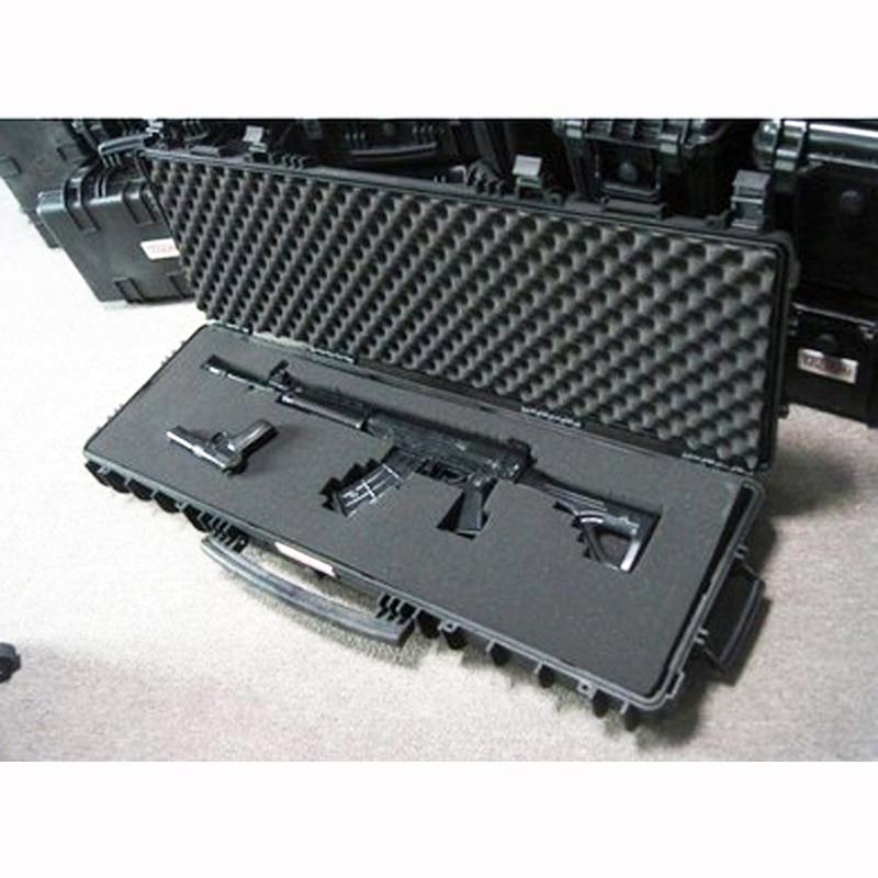 ilgas dėklas pistoleto dėklai didelis įrankių rinkinys Atsparus smūgiams hermetiškas, neperšlampamas korpuso komplektas. 88 snaiperio šautuvo dėklas su putplasčiu, nemokamas pristatymas