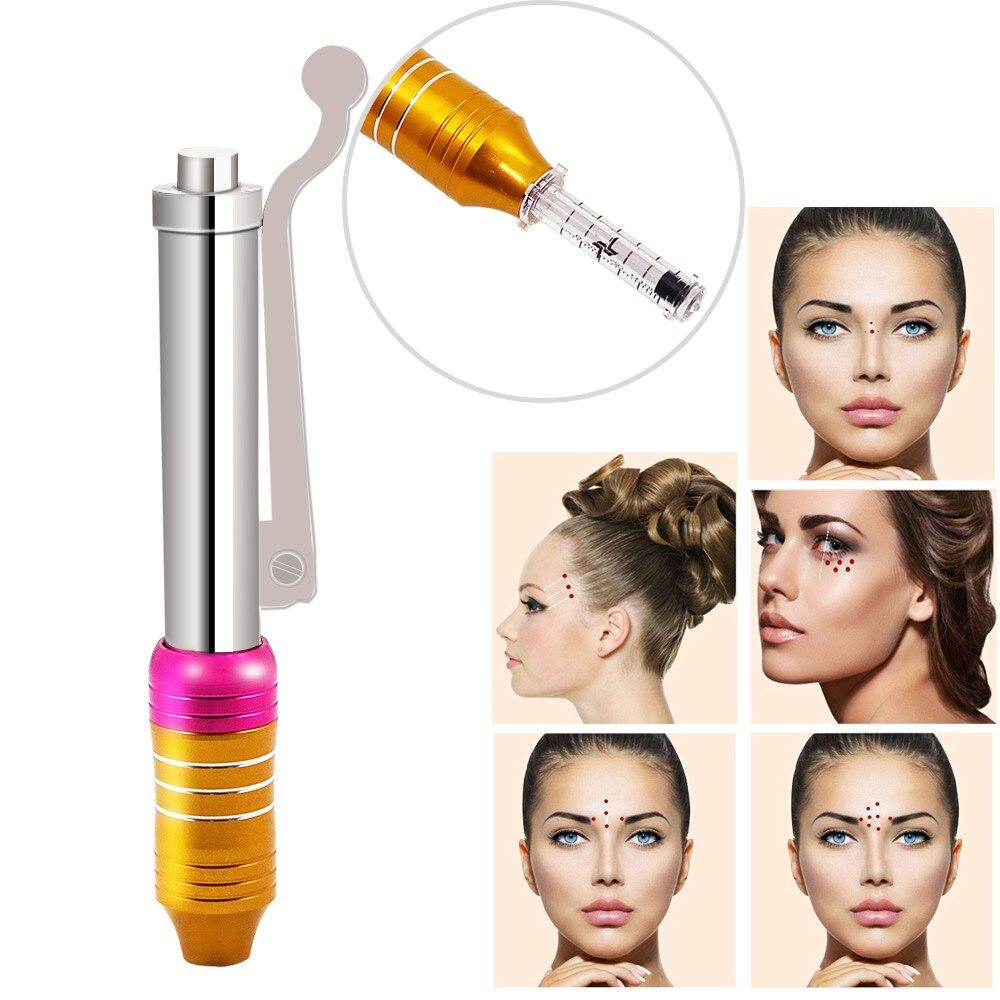 High Pressure Hyaluronic Acid Pen High Density Metal For Anti Wrinkle Lifting Lip Hyaluron Gun Atomizer Hyaluron Pen