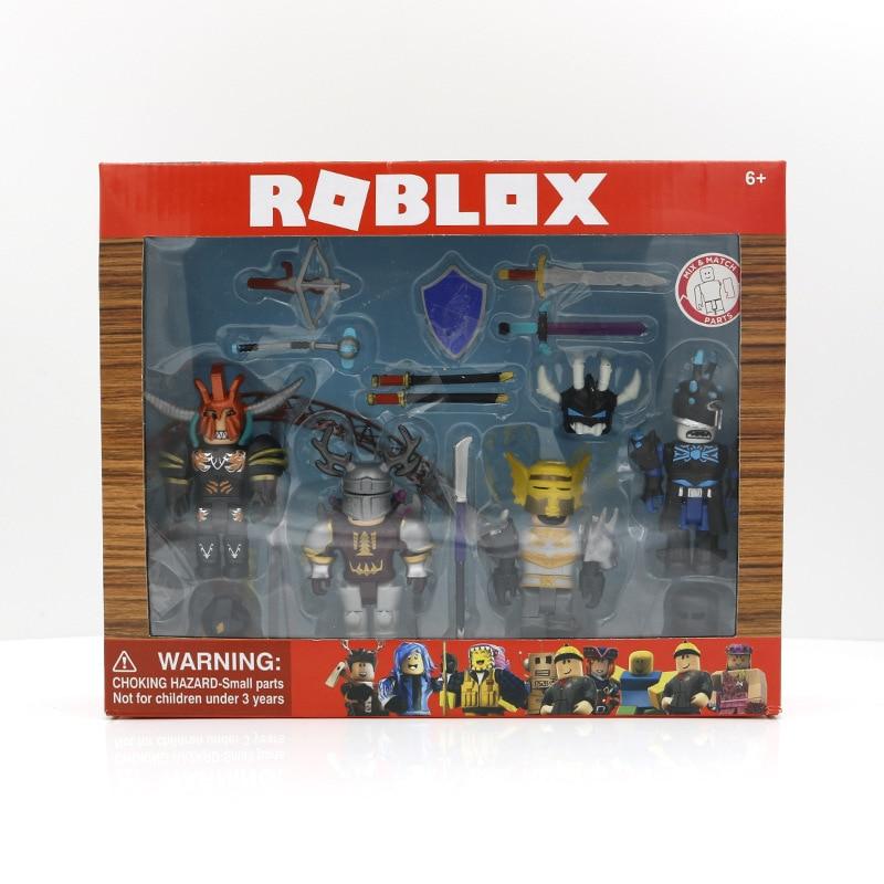 Набор ROBLOX Days of Knight Mix & Match 7 см, ПВХ куклы, игрушки для мальчиков, модели, фигурки для коллекции, рождественские подарки для детей