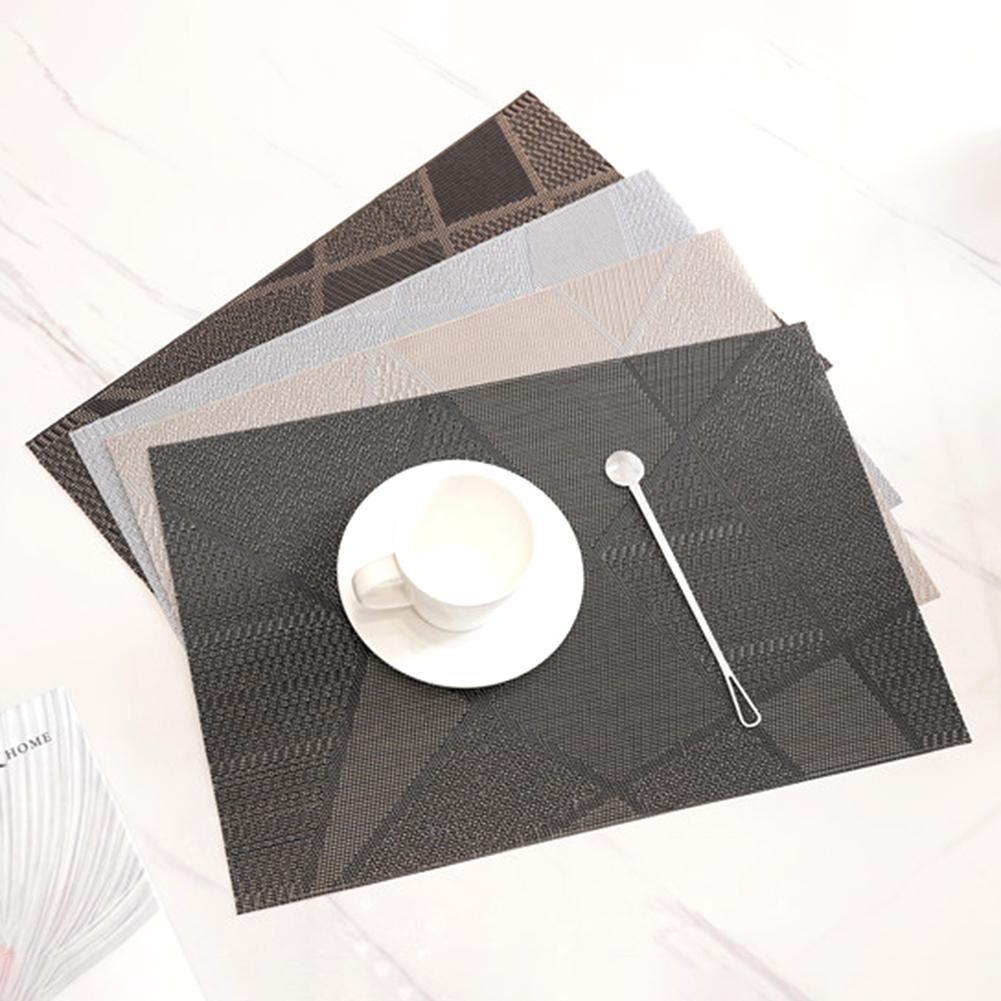 45x30 см творческий нескользящей PVC eco friendly теплоизолирующая подкладка обеденный стол Чаша Блюдо коврик Кухня ресторанные принадлежности|Коврики и подложки| | АлиЭкспресс