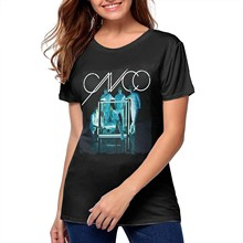 MJCoulombe-id Womans CNCO - Primera Cita Vintage Tees Girls Tee Black(1)(China)