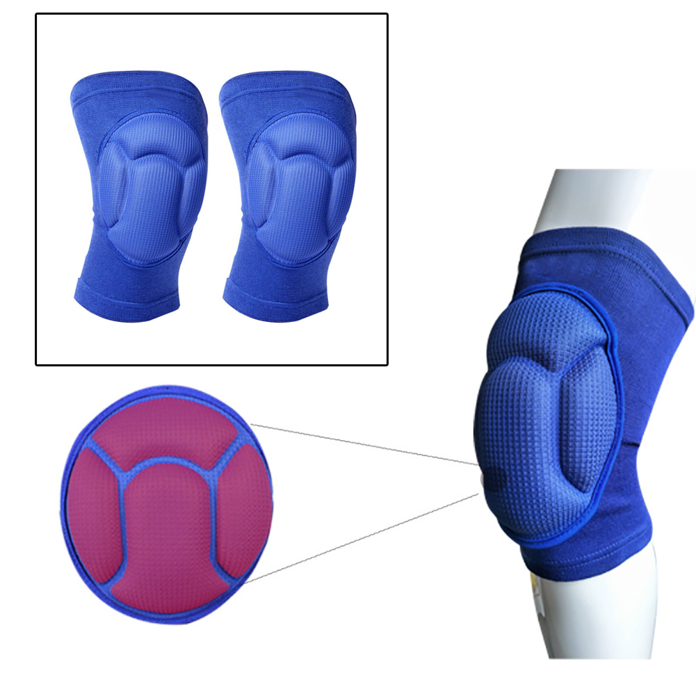 1 Pair Adult Outdoor Sports Knee Pads Work Safety Kneelet Wrap Construction Brace Joint Protector Protective Gear Thickened