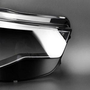 Image 4 - Koplampen Koplampen Glazen Masker Lamp Cover Transparante Shell Lamp Maskers Voor Audi A6L C7 Pa 2016 2018