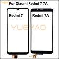 Сенсорный экран сенсорный ЖК-дисплей дигитайзер передняя внешняя стеклянная передняя панель для Xiaomi Redmi 7 7A Сенсорная панель дигитайзер пер...