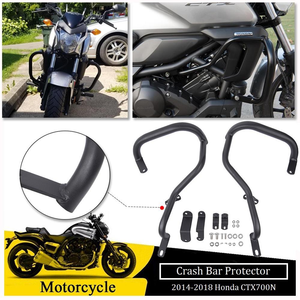 Motorcycle Engine Guard Highway Crash Bar Buffer Fairing Bumper Frame Protection For Honda CTX CTX700N 2014 2015 2016 2017 2018