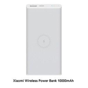 Image 4 - オリジナルxiaomi miワイヤレス電源銀行10000 mahのチー急速充電器powerbank外部バッテリーiphone三星電子xiaomi mi電話