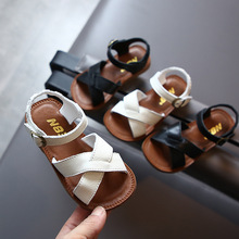 Summer Baby Girls Casual Genuine Leather Sandals Child Princess Soft Bottom Beac