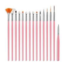 Высококлассная маникюрная ручка набор из 15 наборов для дизайна