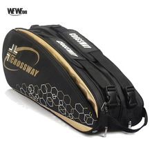 Backpack-Accessories Tennis-Bag Badminton Racquet Racket for 42-Shoes Stroage Sports-Pack