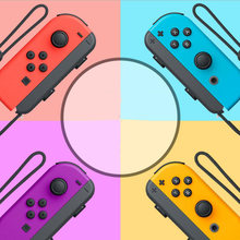 Bluetooth gamepad para nintendo switch joy-con (l/r) controlador para interruptor sem fio joysticks cinta dropshipping