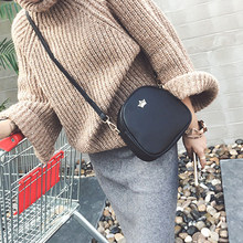 Bags for Women 2019 New Shoulder Bag Fashion Handbag Phone Purse Imperial Crown Pu Leather Women Small Shell Crossbody Bag(China)